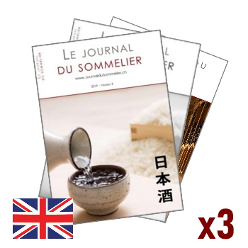 Illustration of 3 issues subscription to the Journal du Sommelier