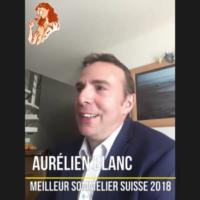 Aurélien Blanc ¦ Meilleur Sommelier Suisse 2018