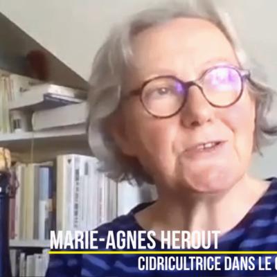 Marie-Agnès Hérout ¦ Cidricultrice dans le Cotentin