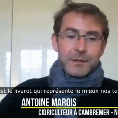 Antoine Marois ¦Cidriculteur en Normandie