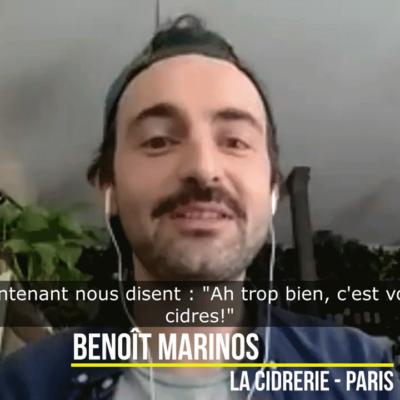 Benoît Marinos ¦ La Cidrerie à Paris