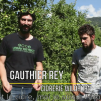 Gauthier Rey et Léonard Zufferey ¦ Cidrerie WildHorn, Valais