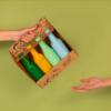 Coffret de dégustation cidre de chez calyce avec le journal du sommelier
